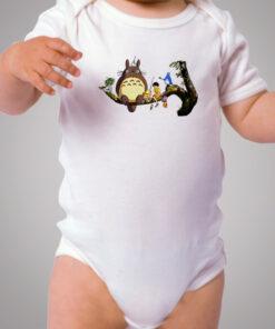 Tonari No Totoro Holiday Party Baby Onesie