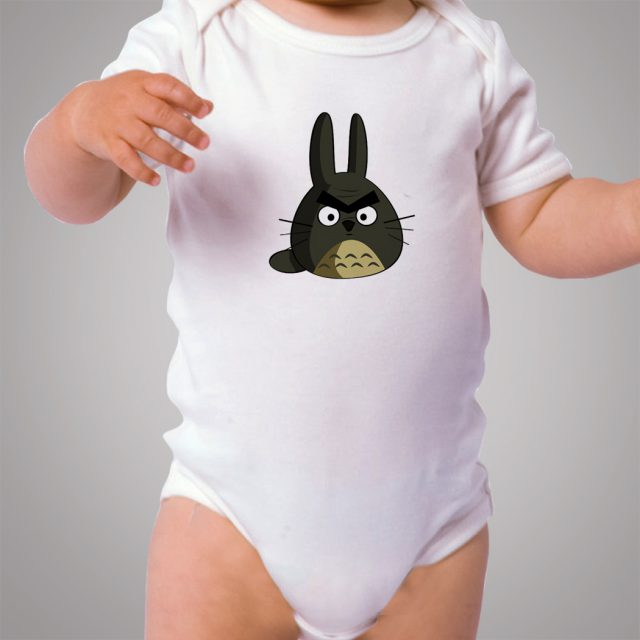 Totoro Angry Bird Cute Baby Onesie