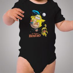 Totoro Bart Simpson My Neighbor Homero Cute Baby Onesie