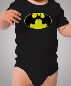 Totoro Batman Symbol Baby Onesie Bodysuit