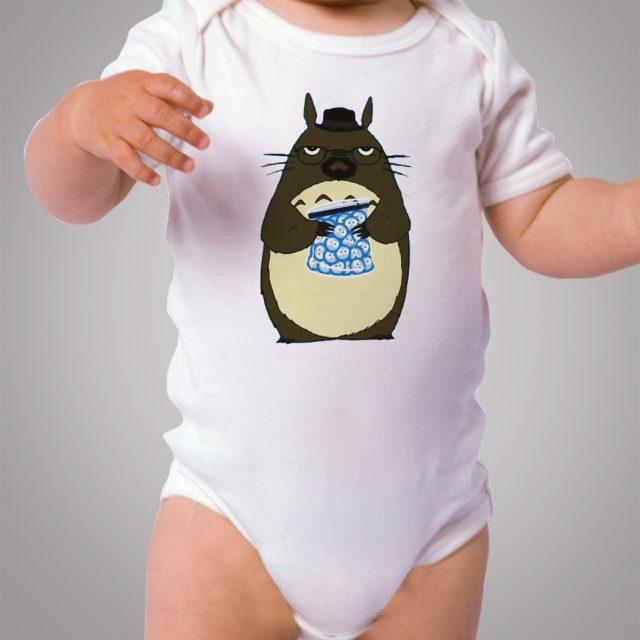 Totoro Breaking Bad Baby Onesie Bodysuit Design