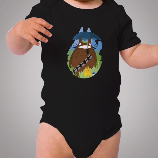 Totoro Chewie Star Wars Baby Onesie Bodysuit