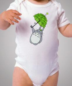 Totoro Chrismas Umbrella Baby Onesie