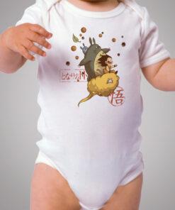 Totoro Goku Dragon Ball Baby Onesie