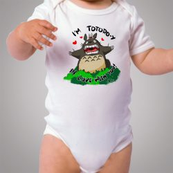 Totoro In Love With You Cute Baby Onesie