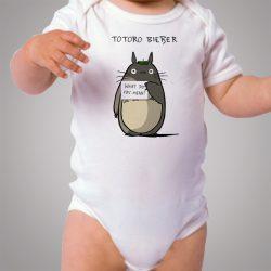 Totoro Justin Bieber Fans Cute Baby Onesie