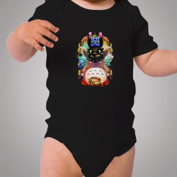 Totoro Lilo Stitch Collaboration Cute Baby Onesie