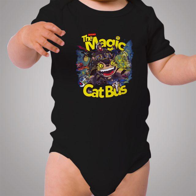 Totoro Magical Cat Bus Baby Onesie Bodysuit