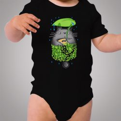 Totoro My Neighbor Funny Baby Onesie Design