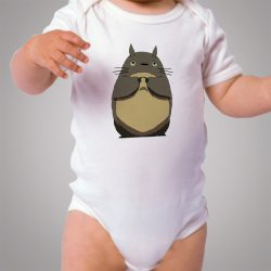 Totoro Sad Face Cute Baby Onesie