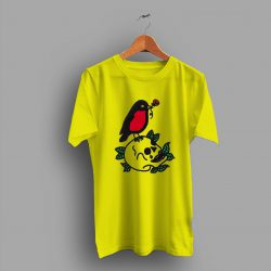 True Nature Of The Red Breasted Robin Ans Skull T Shirt