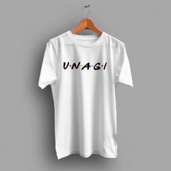 Unagi Friends TV Show Parody T Shirt