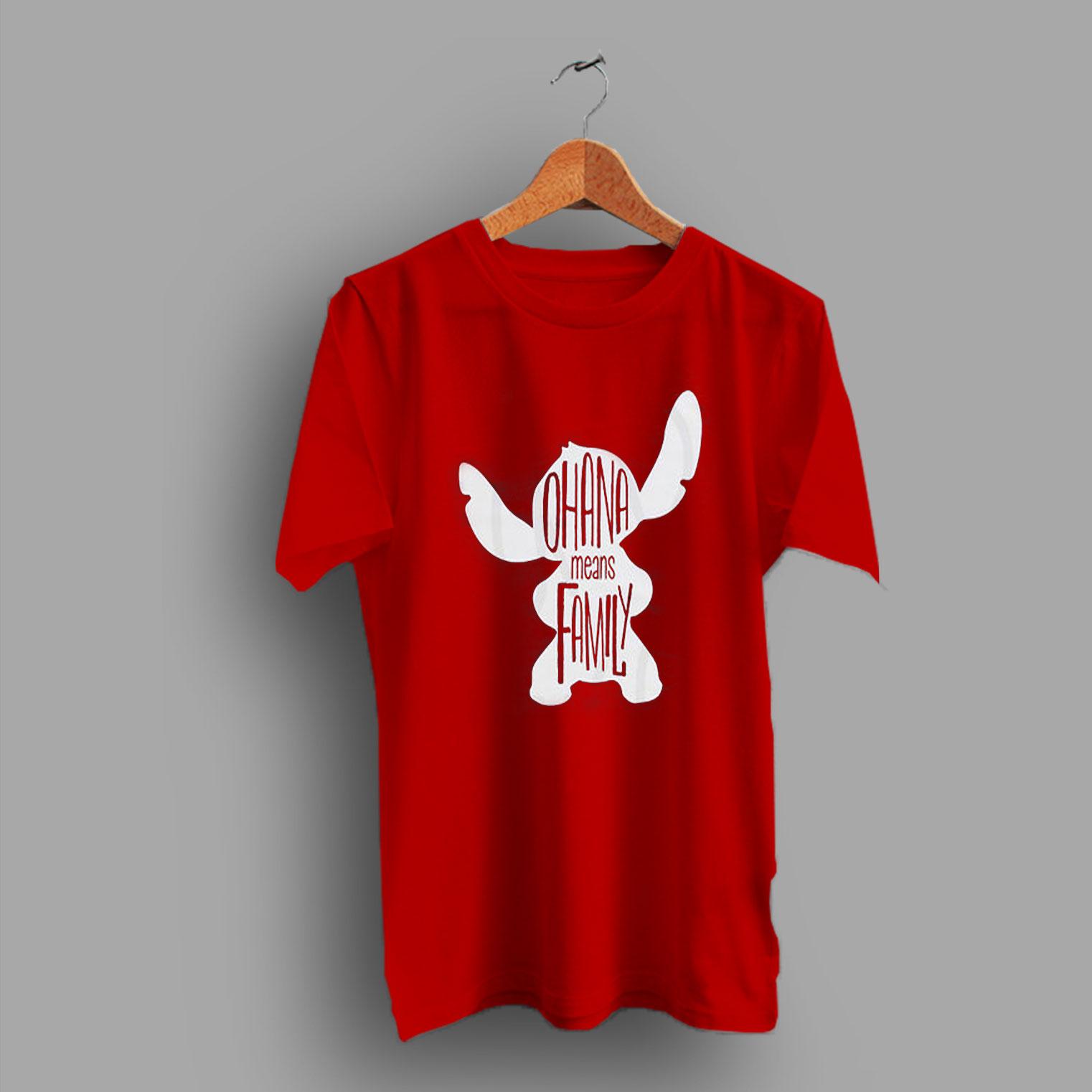 b714fc55 Vacation Matching Disney Trip Ohana Means Family T Shirt - HotVero