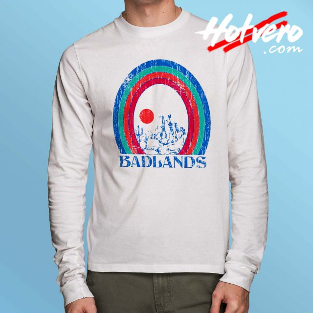 Vintage Arizona Badlans Long Sleeve T Shirt