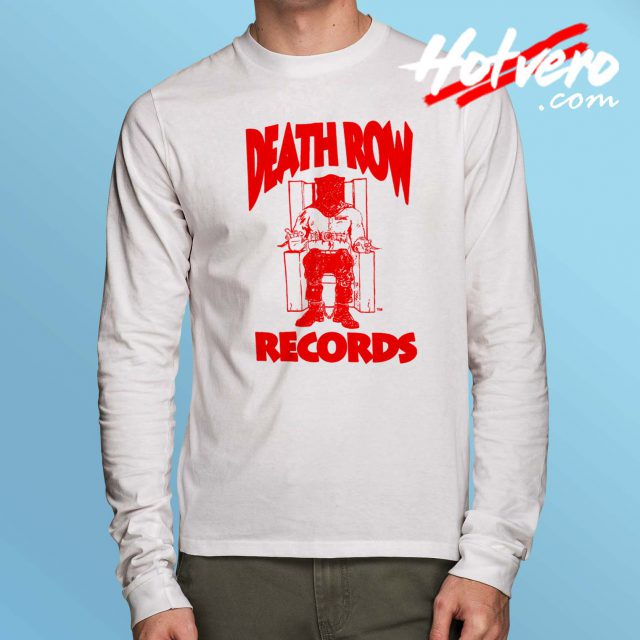 Vintage Death Row Hip Hop Records Long Sleeve Shirt
