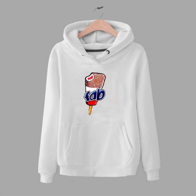 Vintage Fab Ice Cream Lolly Unisex Hoodie