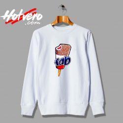 Vintage Fab Ice Cream Lolly Unisex Sweatshirt