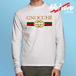 Vintage Gnocchi Gucci Parody Long Sleeve Shirt