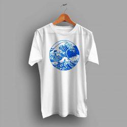 Vintage Great Wave Off Kanagawa Summer T Shirt