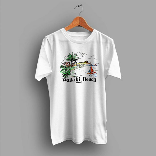 Vintage Hawaiian Wakiki Beach Summer T Shirt