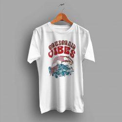 Vintage Mermaid Vibes Summer T Shirt Design