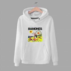 Vintage Ramones Rockaway Beach Unisex Hoodie