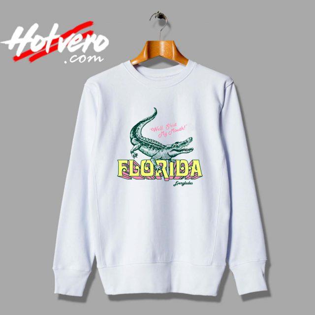 Vintage Sassy Florida Gator Unisex Sweatshirt
