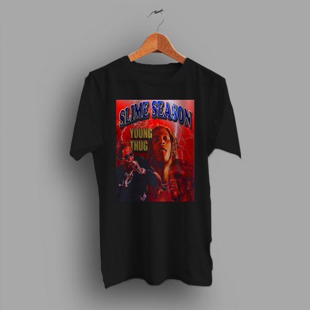 Vintage Slime Season Young Thug Hip Hop T Shirt