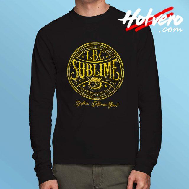 Vintage Sublime Long Beach Cali Long Sleeve T Shirt