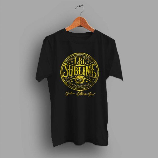 Vintage Sublime Long Beach Cali Summer T Shirt