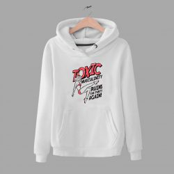Vintage Toxic Masculinity Quote Hoodie