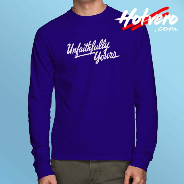 Vintage Unfaithfully Yours Movie Long Sleeve Shirt