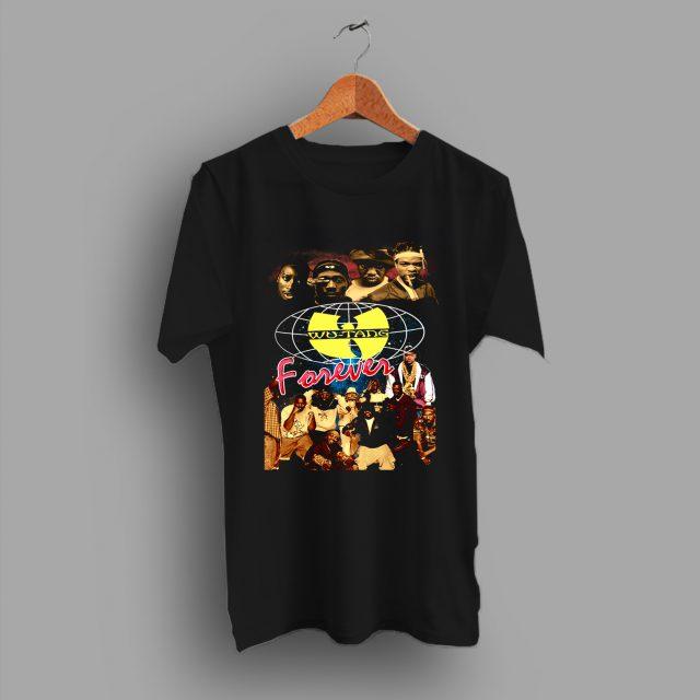 Vintage Wu Tang Clan Forever Hip Hop T Shirt