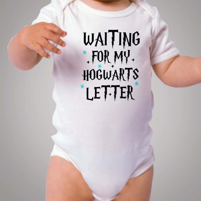 Waiting For My Hogwarts Letter Baby Onesie Bodysuit