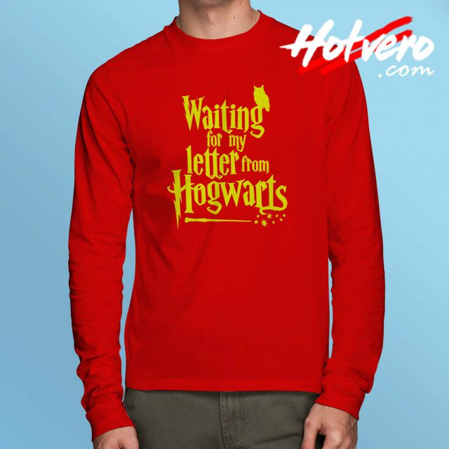 Waiting Letter From Hogwarts Harry Potter Long Sleeve Shirt