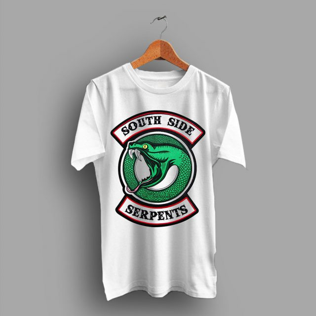 White Cheap Riverdale South Side Serpents T Shirt