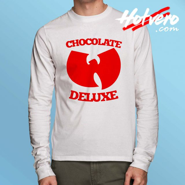 Wu Tang Chocolate Deluxe Long Sleeve T Shirt