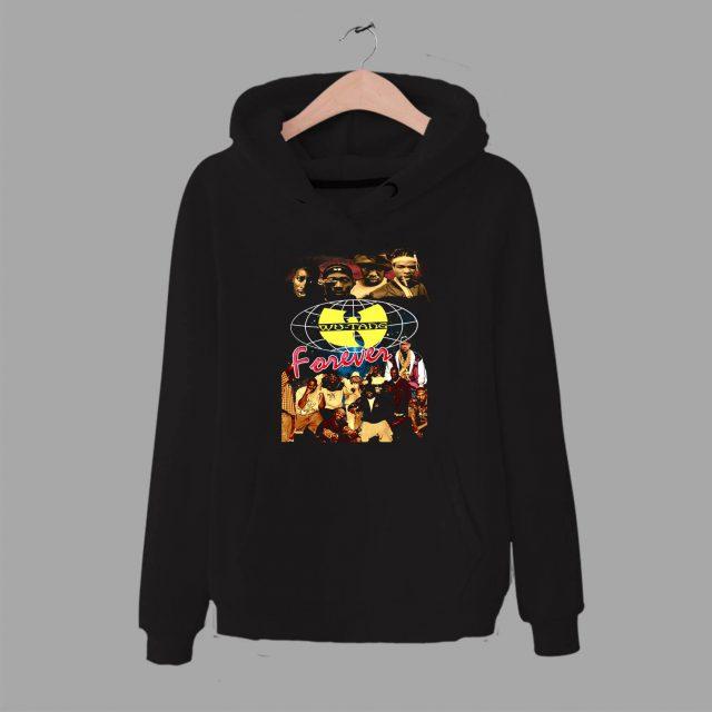 Wu Tang Clan Forever Till Die Hip Hop Hoodie