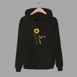 You Are My Sunshine Sunflower Quote Hoodie
