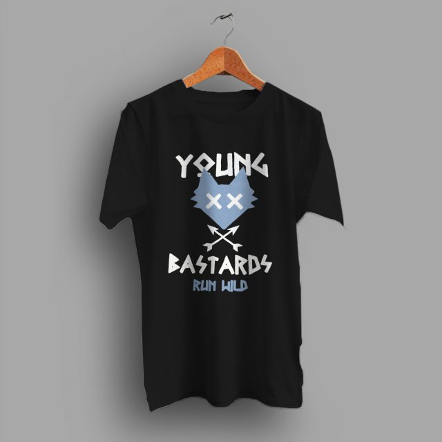 Young Bastards Run Wild Vintage T Shirt