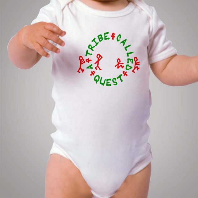 A Tribe Called Quest 90s Hip Hop Baby Onesie