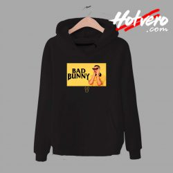 Bad Bunny Black And Yellow Unisex Hoodie