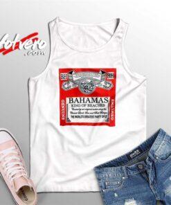 Bahamas King Of Beaches Budweiser Summer Tank Top