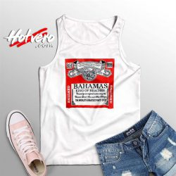 Bahamas King Of Beaches Budweiser Summer Tank Top
