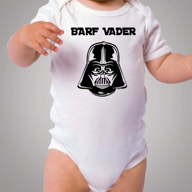 Barf Vader Star Wars Baby Onesie