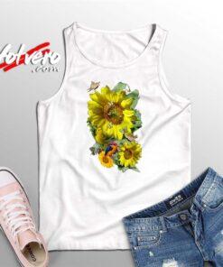 Beautiful Sunflower Summer Tank Top