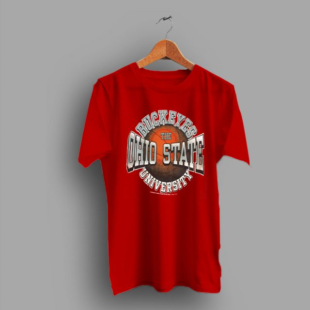 Buckeyes The Ohio State Basketball College T Shirt