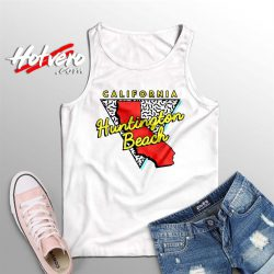 California Huntington Beach Summer Tank Top