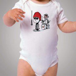 Calvin Hobbes 21 Pilots Parody Baby Onesie