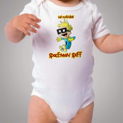 Calvin Hobbes Incredible Spaceman Baby Onesie